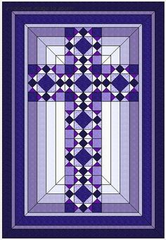 Free Quilt Pattern: Christian Cross
