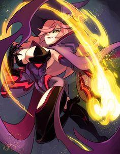 Fantasy Character Design, Character Design Inspiration, Character Concept, Character Art, Concept Art, Fantasy Witch, Witch Art, Fantasy Girl, Monster Girl Encyclopedia