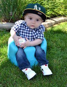 Baby boy fashion... Play ball!!