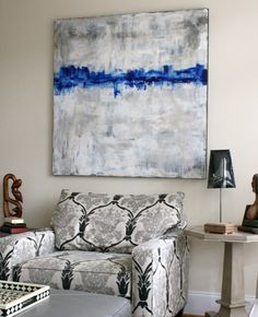 8 Rooms That Have Mastered Oversized Art