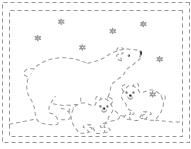 Hibernating Animals In Winter Coloring Coloring Pages