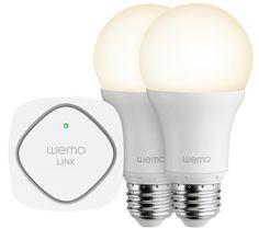 F5Z0489UK WeMo Wi-Fi LED Lighting Starter Set