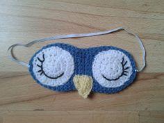 Bits & Bobbles : Crochet Owl Sleep Mask Pattern