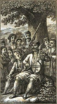 (Gusle - Wikipedia)  The gusle instrumentally accompanies heroic songs (epic poetry) in the Balkans.