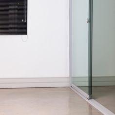 Invite the outdoors in with Sunflex's range of frameless glass doors, sliding doors, frameless glass stacking doors and aluminium security shutters.