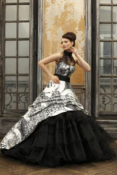 Black Lace Wedding Dresses 2013 DesignFashionTrends