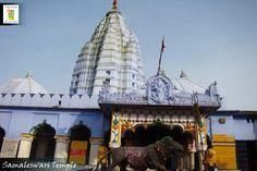 Maa Samaleswari is the presiding deity of Sambalpur.