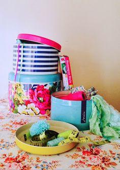 Selina Lake - Joules Cake Tins Homespun Style