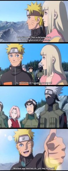 Naruto is so innocent...I saw this picture saying he got married to Shion in the first movie. Guys it's not true Naruto just didn't understand what she was saying, hence the innocence.