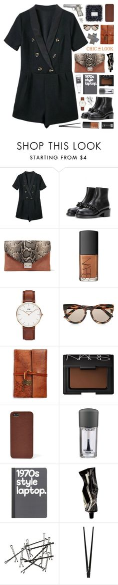 """CHIC LOOK CLOSET"" by novalikarida ❤ liked on Polyvore featuring Loeffler Randall, NARS Cosmetics, Daniel Wellington, Le Specs, Patricia Nash, FOSSIL, MAC Cosmetics, Aesop, CB2 and chiclookcloset"