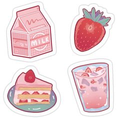Decorate laptops, Hydro Flasks, cars and more with removable kiss-cut, vinyl decal stickers. Glossy, matte, and transparent options in various sizes. Super durable and water-resistant. ♥ Stickers Kawaii, Preppy Stickers, Food Stickers, Anime Stickers, Journal Stickers, Scrapbook Stickers, Printable Stickers, Laptop Stickers, Cute Stickers