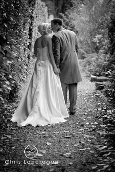 A peaceful walk - Sam and Paul's #wedding at Ringwood Hall Hotel