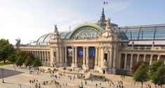 Grand Palais built in 1900 for the Universal Exposition in Paris France - Architecture and Historic Places - Buildings - Amazing Travel Photography and Sightseeing Destinations Tour Eiffel, Clemente Orozco, Grand Paris, Louvre, Champs Elysees, Paris Hotels, City Architecture, Abandoned Buildings, Urban Planning