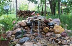 Backyard or front yard landscaping ideas that include water features create fabulous outdoor living spaces, improve curb appeal and increase home values