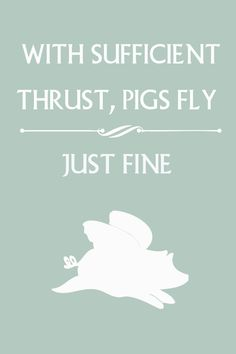 Pigs can fly! by ThePickleShop, $15.00
