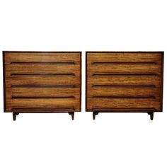 """Milo Baughman for Drexel - Perspective Line: These dressers are described as Mahogany tho my dining set is """"Minora wood."""" Perhaps Minora is a type of Mahogany?"""