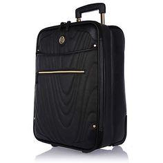 Black quilted wheelie suitcase €87.00