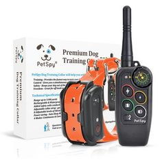 PetSpy® E-Collars - Official Manufacturer Website Shock Collar, Collar Designs, Training Your Dog, Collars, Animal, Dogs, Necklaces, Pet Dogs, Doggies
