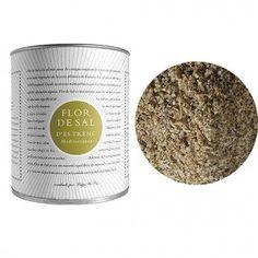 Flor de Sal d´Es Trenc Mediterránea - Flor de Sal 150 gr. Barcelona, Gourmet, Flower, Olives, Oil, Raw Materials, Barcelona Spain
