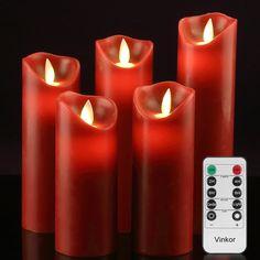 3PK Halloween Skeleton Sculpture LED Flameless Candle Holder Candle Sticks Kit