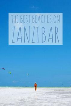 Nungwi Beach, Kendwa Beach, Kizimkaze Beach, Stone Town Beach and Paje Beach are all some of the best beaches on Zanzibar. Go explore!
