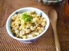 高野豆腐のネギ味噌レシピ