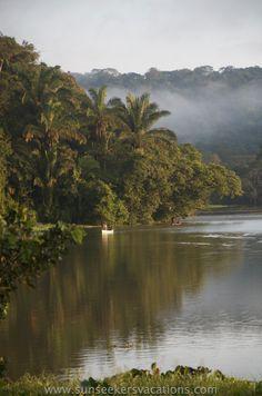 Una mañana hermosa en Gamboa, Panamá