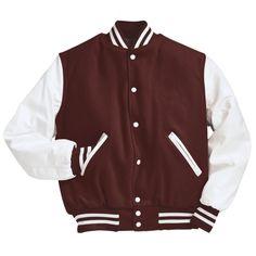 SCA Maroon Lettermen Jacket