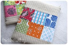 Sewing: Freckled Whimsy: quilted iPad Pouch Tutorial. Great idea for gifts (and for me!)