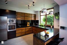 Kuchnia styl Nowoczesny - zdjęcie od Hekkelstrand Barn Kitchen, Kitchen Room Design, Kitchen Cabinet Design, Modern Kitchen Design, Home Decor Kitchen, Interior Design Kitchen, Kitchen Furniture, Modern Kitchen Interiors, Modern Kitchen Cabinets