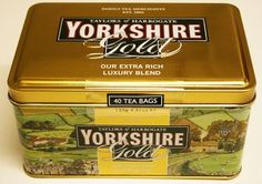 Yorkshire Gold Tea Bags. A complete caddy with 40 Yorkshire Tea Gold teabags. As we say in  Goathland.... Yorkshire tea for Yorkshire folk