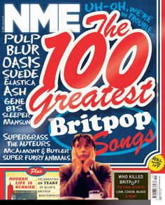 Bought this in Heathrow on the day I arrived in London! May 2013 Nme Magazine, Magazine Covers, Super Furry Animals, Mike Williams, Picture Editor, Britpop, Music Magazines, Editorial Design, Rock And Roll