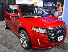 2014 Ford Edge Sport Suv Vehicles, Ford 2015, Family Cars, Small Suv, Suv Cars, Ford Edge, My Ride, Muscle Cars, Plane