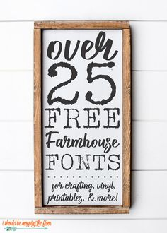 i should be mopping the floor: Free Fonts Fancy Fonts, Cool Fonts, Creative Fonts, Farmhouse Font, Farmhouse Signs, Country Farmhouse, Farmhouse Decor, Sign Fonts, Cursive Fonts