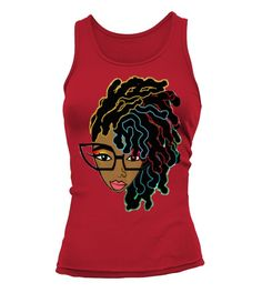 Afro hair Tshirt for Black women