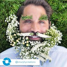 Every mans's ideal facial hair? Every Man, Summer Flowers, Facial Hair, Veronica, Flower Art, Flower Power, Robins, Model, Instagram