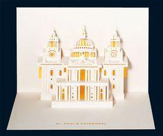 London landmarks reinvented as 3D paper art | Art | Creative Bloq