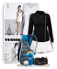 Tennis Outfit on Sunday by Nicole's Tennis Boutique on Polyvore.
