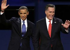 US President Barack Obama today scored a clear victory over Mitt Romney in the high-stake second presidential debate, putting up a combative performance as he slammed his Republican presidential rival on issues like outsourcing and Libya