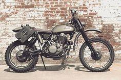 Yamaha XT500 Scrambler by Scott Halbleib
