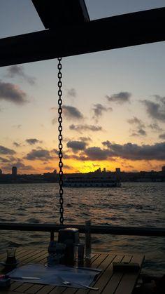 Pasalimani,İstanbul  #sunset #bosphorus