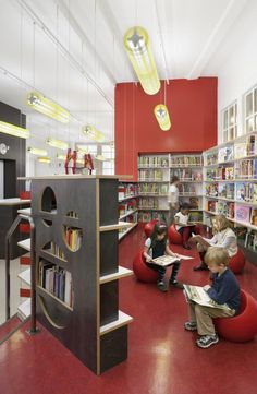 Projekt: Robin Hood Libraries - Leroy Street Studio