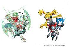 Digimon Universe: Appli Monsters tendrá un Manga spinoff de comedia en octubre.
