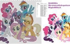 cross stitch pattern for children my little pony