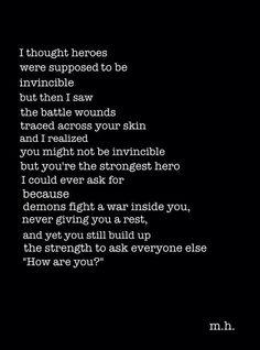 Heroes. Poem.