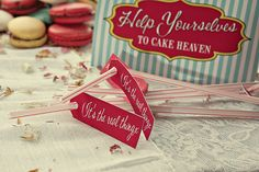 seaside/funfair themed wedding stationary staws by Dottie Creations http://www.dottiecreations.com/QUIRKY_460045.html