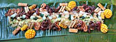 This underrepresented cuisine has finally surfaced at Upper Room, a pop-up run by chef Andrew Bantug and Joyce Lau on Sundays at Tomo that routinely sells out in minutes. Boodle Fight, Filipino Recipes, Filipino Food, Small Acts Of Kindness, Team Building, Food Presentation, Gourmet Recipes, Things To Do, Bbq