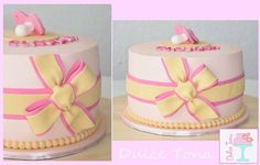 Tarta Baby Shower cake Baby girl cake