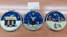Button Ornaments, Christmas Buttons, Felt Christmas Ornaments, Christmas Sewing, Christmas Nativity, Christmas 2017, Christmas Projects, Christmas Holidays, Christmas Decorations