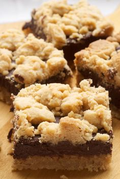 Peanut Butter Chocolate Bars.